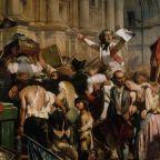 The Vanquishers of the Bastille before the Hôtel de Ville, July 14, 1789. Found in the Collection of Petit Palais, Musée des Beaux-Arts de la Ville de Paris. (Photo by Fine Art Images/Heritage Images/Getty Images)